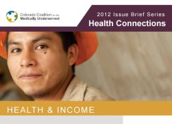 Health & Income Issue Brief