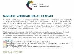 Our Perspective on the American Health Care Act