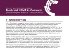 Medicaid NEMT in Colorado