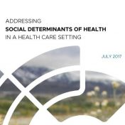Addressing Social Determinants of Health in a Health Care Setting