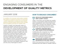 Engaging Consumers in Quality Metrics