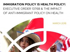 Immigration Policy Is Health Policy Report