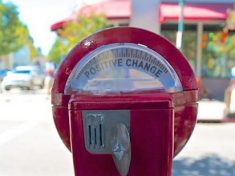 Fundraising - Positive Change Parking Meter