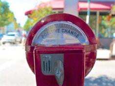 Fundraising - Positive Change Parking Meter