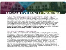 Legislative Equity Program