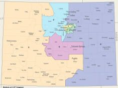 Colorado Redistricting Map