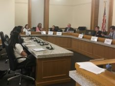 Legislative Action - Joe Sammen testifies on healthy homes bill at the Colorado Capitol in a committee hearing