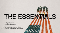 The Essentials title card with four silhouettes and flag